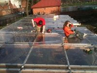 Ian carol on poli roof